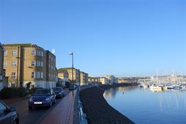 Estate Agents in Penarth Sales : Acj Properties : 1 Bedroom Flat : Bayswater House, John Batchelor Way, Penarth Marina : £159,950 : Click here for more details on this property