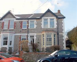 Estate Agents in Penarth Sales : Acj Properties : 3 Bedroom Semi-Detached House : Elm Grove Road, Dinas Powys : £275,000 : Click here for more details on this property