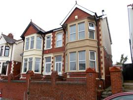 Estate Agents in Penarth Sales : Acj Properties : 4 Bedroom Semi-Detached House : Somerset Road, Barry : £220,000 : Click here for more details on this property