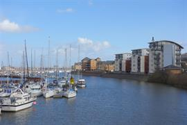 Estate Agents in Penarth Sales : Acj Properties : 3 Bedroom Apartment : Ty Gwalia, Penarth Marina : £375,000 : Click here for more details on this property