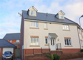 Estate Agents in Penarth Sales : Acj Properties : 4 Bedroom Semi-Detached House : Rhos Ddu, Regents Gate, Penarth : £325,000 : Click here for more details on this property