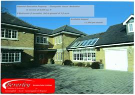 Estate Agents in Sunninghill : Beverley Williams : 6 Bedroom Detached House : Quiet & Prestigious area of Ascot : Guide Price £7,500 pcm : Click here for more details on this property